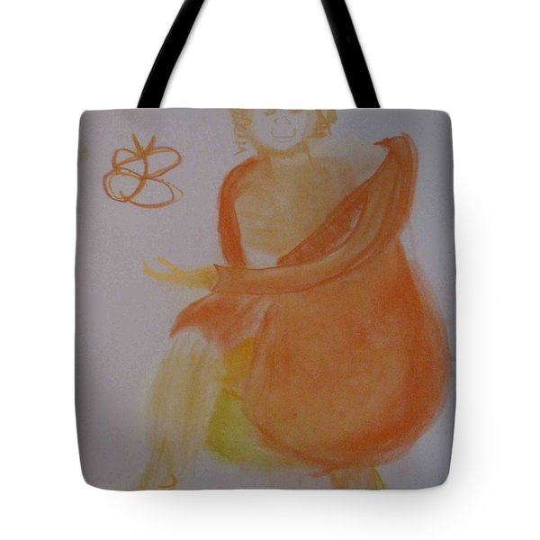 model named Helene three Tote Bag