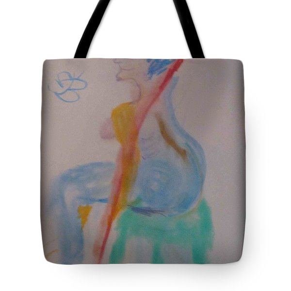 model named Helene two Tote Bag
