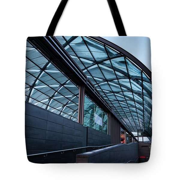 Modern Architecture Shell Tote Bag