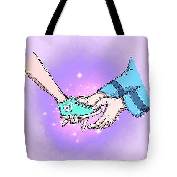 Modern Princess Tote Bag