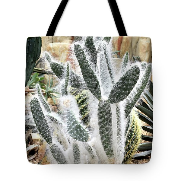 Mojave Prickly Pear Tote Bag