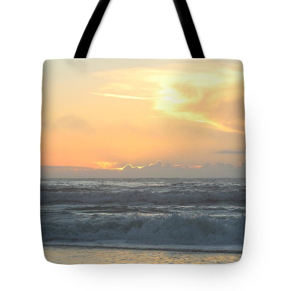 Tote Bag featuring the photograph Moment Before Sunrise by Robert Banach