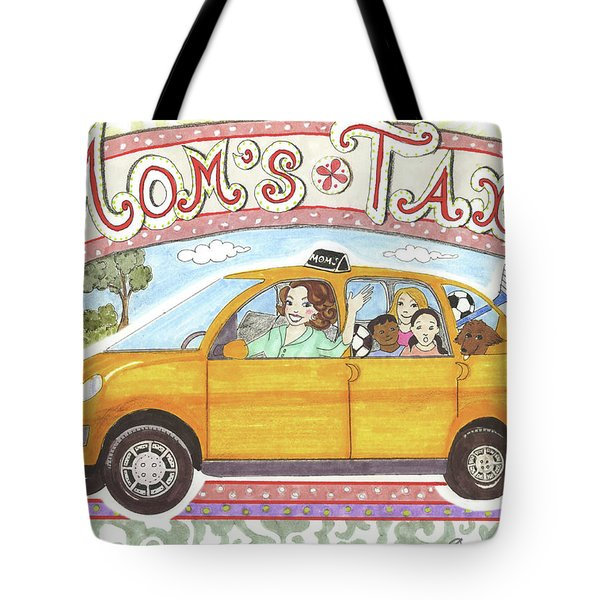 Mom's Taxi Tote Bag