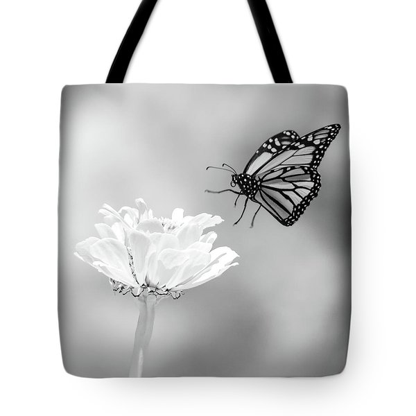Monarch In Infrared 6 Tote Bag