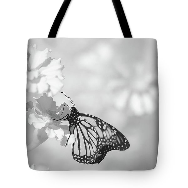Tote Bag featuring the photograph Monarch In Infrared by Brian Hale