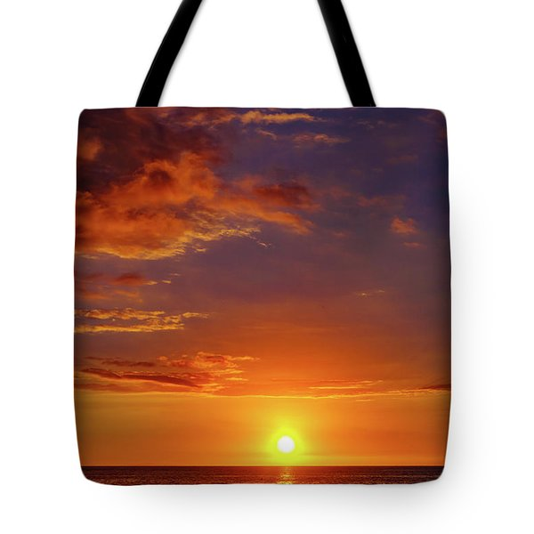Monday Sunset Tote Bag