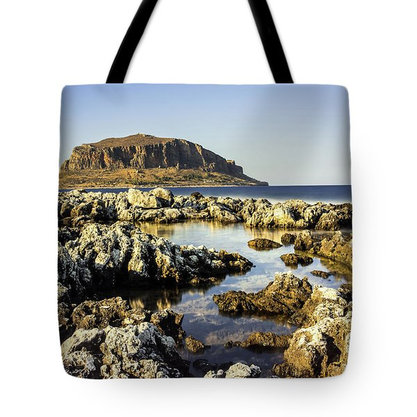 Monemvasia Rock Tote Bag