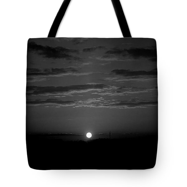 Tote Bag featuring the photograph Monochrome Sunrise by Bee-Bee Deigner