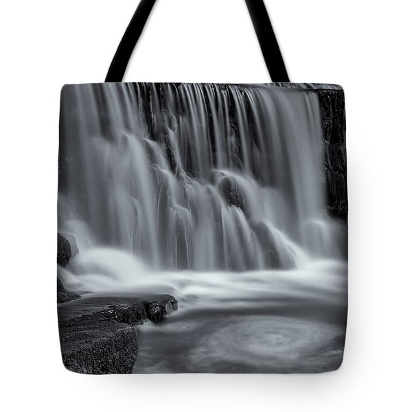 Monsal Dale Weir Tote Bag