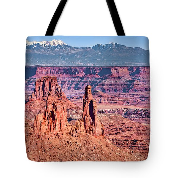 Tote Bag featuring the photograph Monster Tower by Andy Crawford