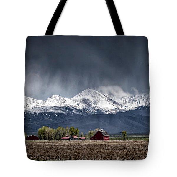 Montana Homestead Tote Bag