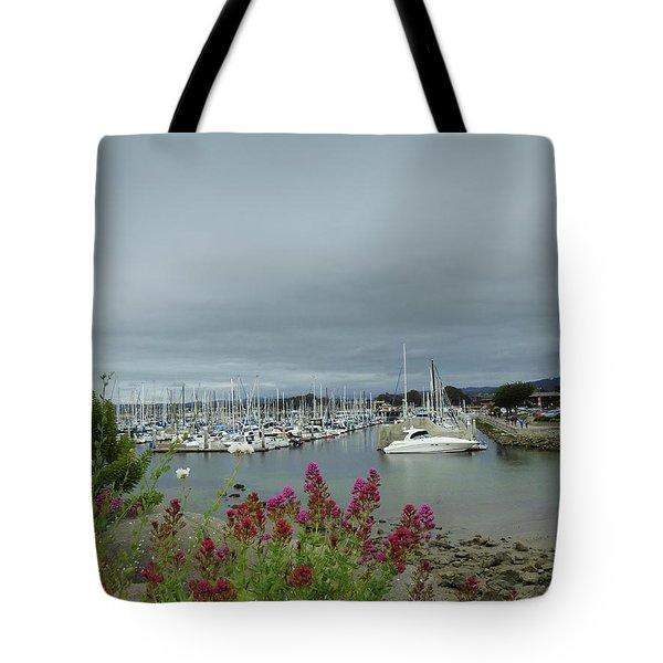 Monterey Harbor  Tote Bag