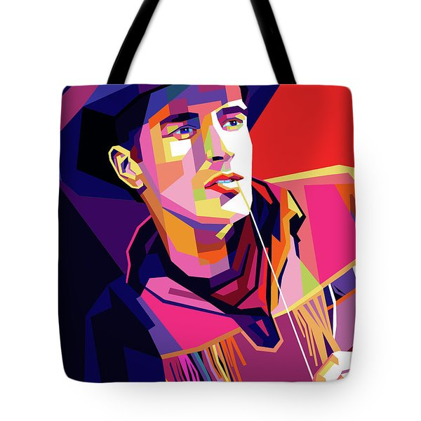 Montgomery Clift Tote Bag