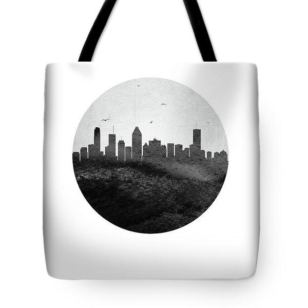 Montreal Skyline Caqcmo04 Tote Bag