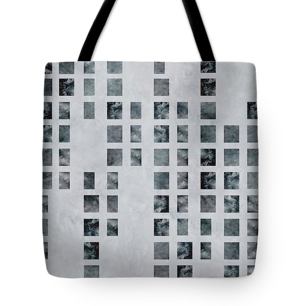 Moody Blues Data Pattern Tote Bag
