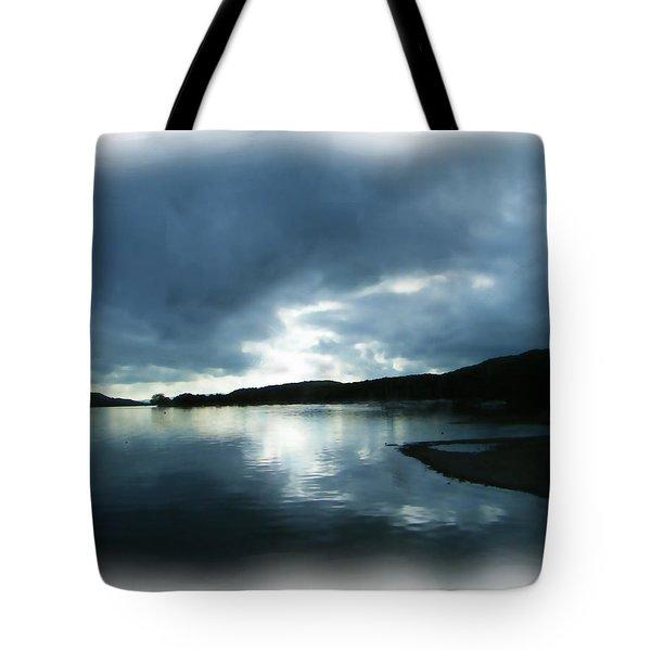 Moody Sky Painting Tote Bag