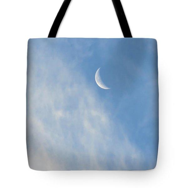 Moon In Libra - Crescent Farewell Tote Bag