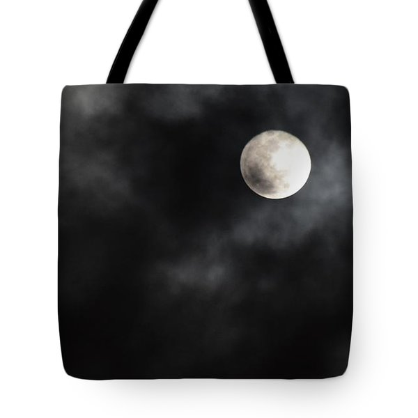 Moon In The Still Of The Night Tote Bag