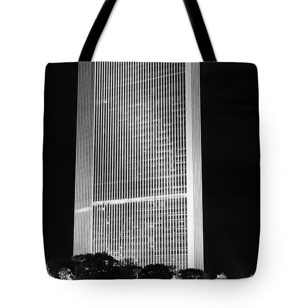 Moon Over Corning Tote Bag