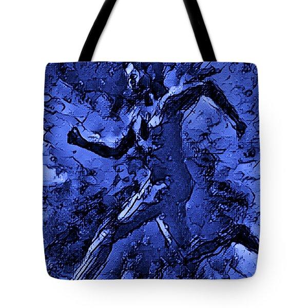 Moon Runner Tote Bag