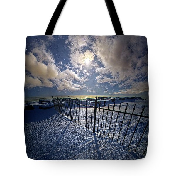 Moon Shine Tote Bag