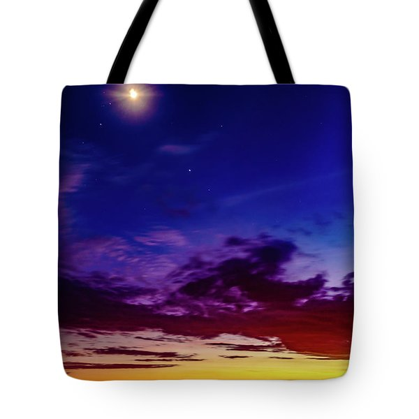 Moon Sky Tote Bag