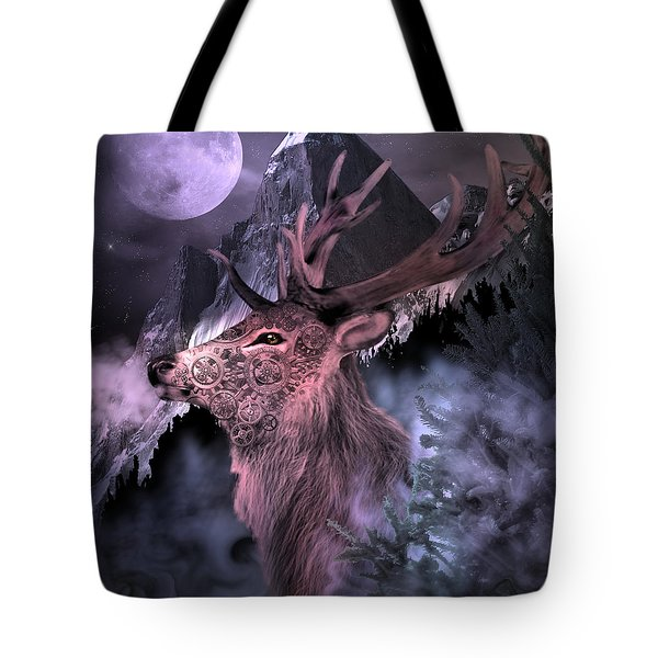 Moonlight Buck Tote Bag