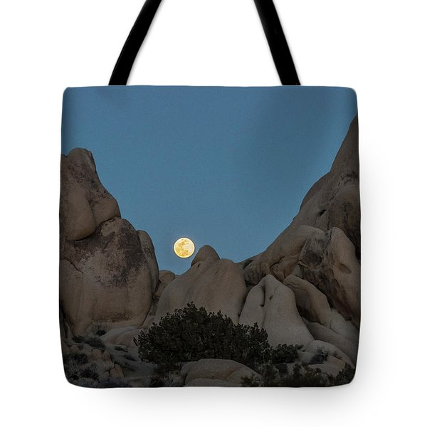 Moonrise In The Sight Tote Bag