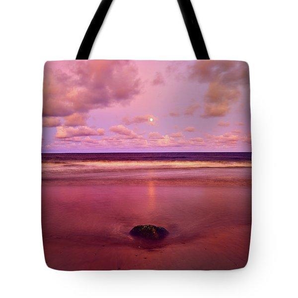 Moonrise, Mayaro Tote Bag
