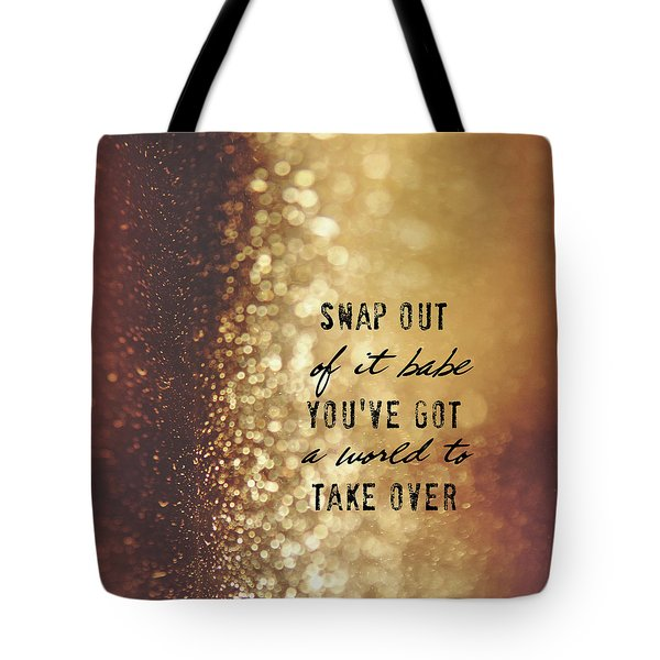 Moonstruck Quote Tote Bag
