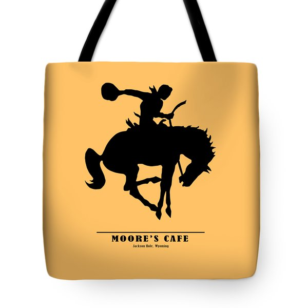 Moores Cafe Wyoming 1946 Tote Bag