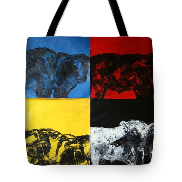 Mooving Out Of Our Land Tote Bag