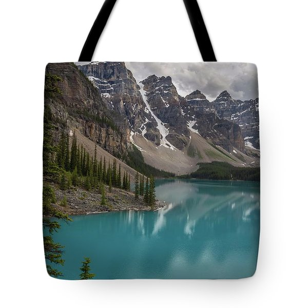 Tote Bag featuring the photograph Moraine Lake by Paul Schultz