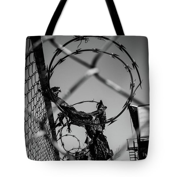More Barriers Tote Bag