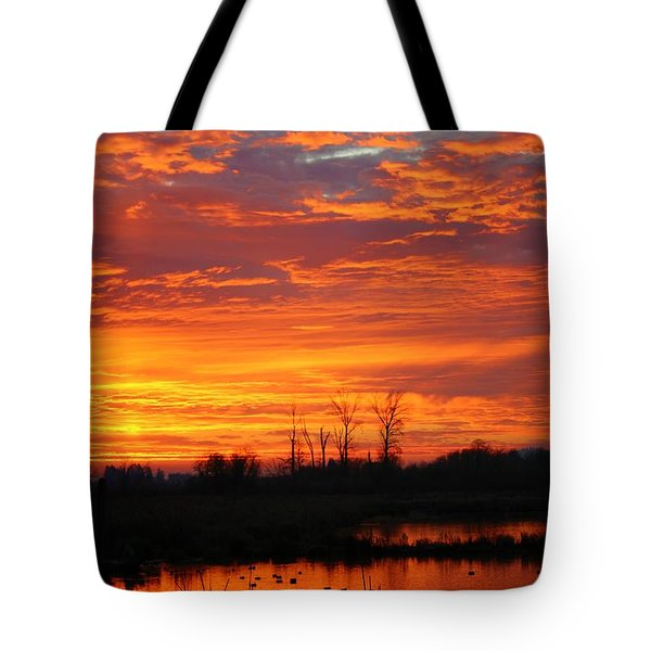 More Sunrise Reflections Tote Bag