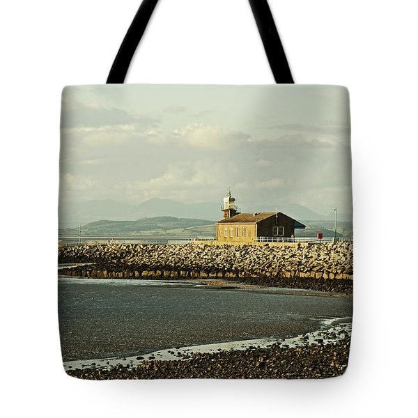 Morecambe. The Stone Jetty. Tote Bag