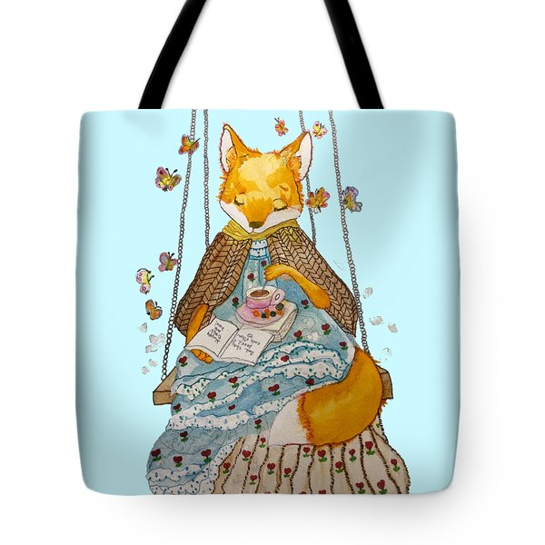 Morgan's Fox Tote Bag