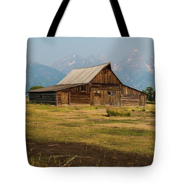 Mormon Barn Tote Bag