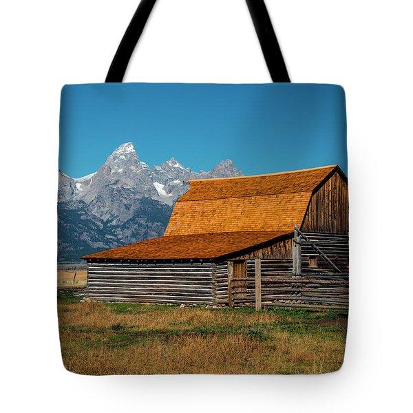 Mormons Barn 3779 Tote Bag