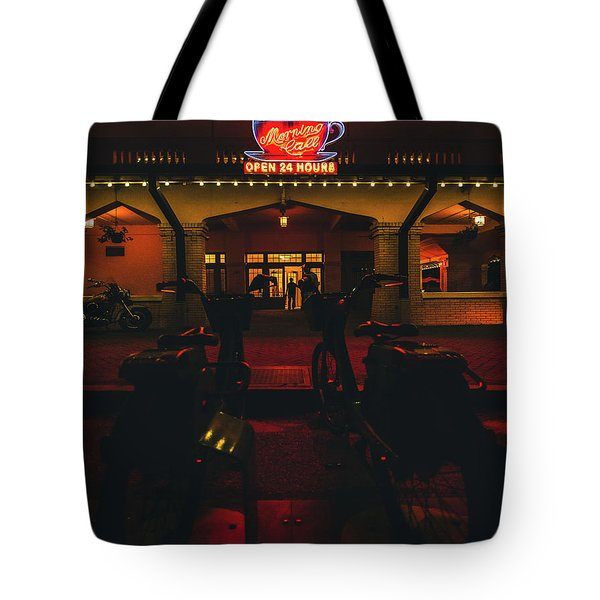 Morning Call Tote Bag