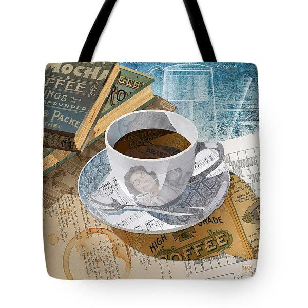 Morning Coffee Tote Bag