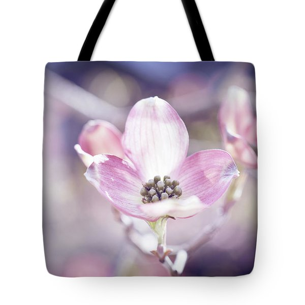 Morning Dogwood Tote Bag