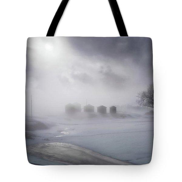 Morning Glory Tote Bag