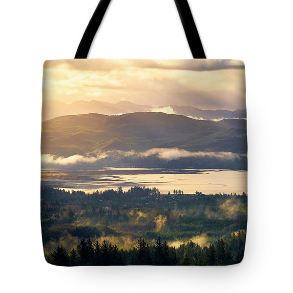 Tote Bag featuring the photograph Morning Glory by Whitney Goodey