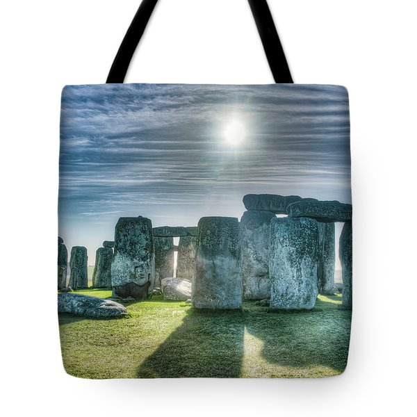 Morning Hedge Tote Bag