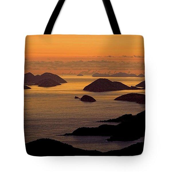 Morning Islands Tote Bag