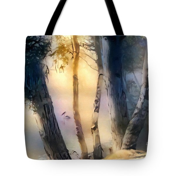 Morning On The Murray Tote Bag