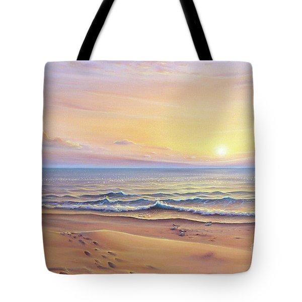Morning Sea Breeze Tote Bag