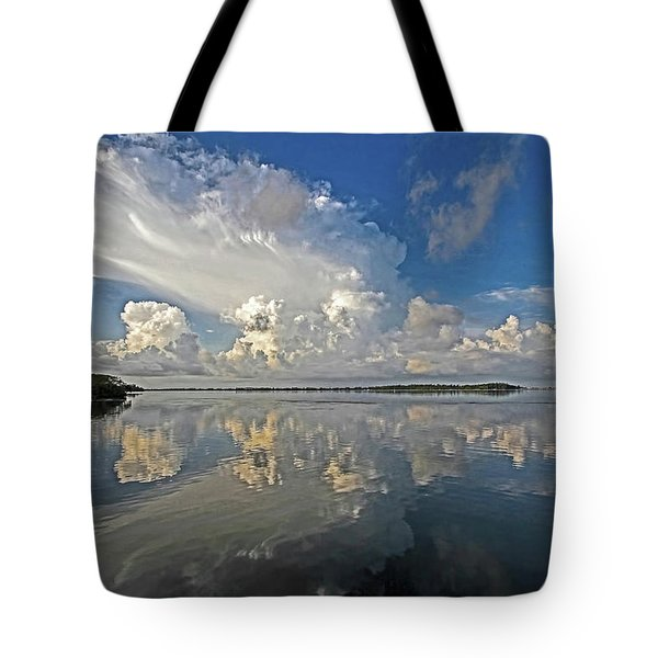 Morning Thunder Tote Bag