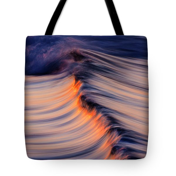 Morning Wave Tote Bag